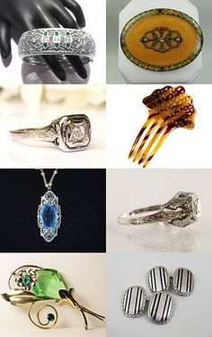 Deco Treasures from VJT by moonbeam0923 on Etsy--Pinned with TreasuryPin.com