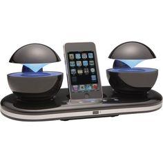 Speakal iCrystal 30-Pin iPod Speaker Dock  http://www.amazon.com/gp/product/B003PJ6G6U/ref=as_li_ss_il?ie=UTF8=1789=390957=B003PJ6G6U=as2=thebooksatiwh-20