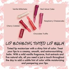 Pamper your lips. #natural #younique #lipbonbons #sheerhintofcolor
