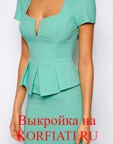 Выкройки платьев своими руками - от А. Корфиати