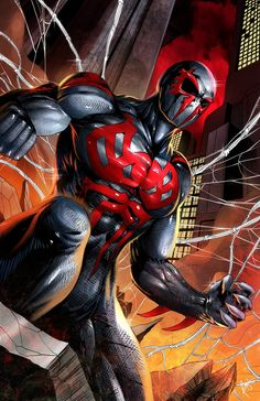 Spiderman 2099 by PROSSCOMICS on Etsy, $15.00