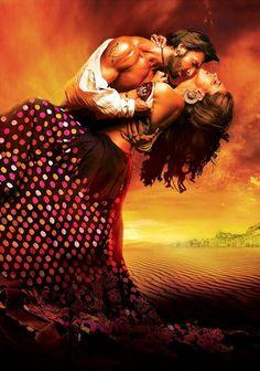 Ram Leela Poster 2 - The most passionate and beautiful bollywood film I'd ever seen. Deepika Padukone, Deepika Ranveer, Ranveer Singh, Akshay Kumar, Hd Movies, Movies Online, Movies Free, Leela Movie, Historical Romance