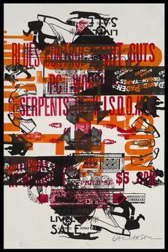 Letterpress Prints // David Carson design and art David Carson Design, David Carson Work, Typography Inspiration, Graphic Design Inspiration, Typography Design, Mises En Page Design Graphique, Typo Poster, Deconstructivism, Vintage Poster