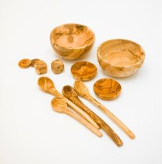 Olivewood, Bowls & Spoons