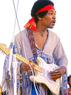 Jimi Hendrix, the greatest guitarist of all time