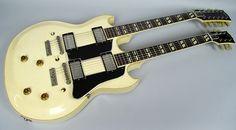 Gibson EDS-1275 Vintage White Doubleneck Thinline Hollowbody | Reverb