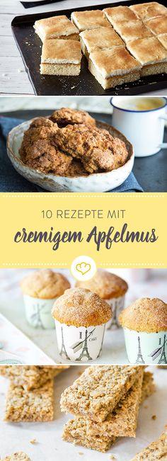 Der Liebling aus Kindertagen: 10 Rezepte mit Apfelmus