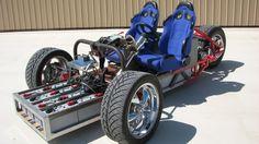 Na foto, modelo que inspirou a criação do EZ-EV por Gary (Foto: Reprodução) O engenheiro elétrico Gary Krysztopik desenvolveu um carro elétrico simples, que pode ser montado através de kits por praticamente qualquer pessoa. Gary pretende vender kits do seu EZ-EV, modelo de carro elétrico compacto e simples.