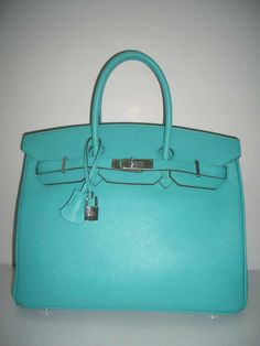 Hermes Birkin in Turquoise. One can dream ;)