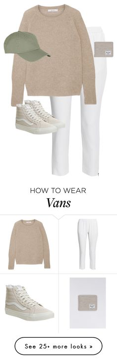 """""""Untitled #12481"""" by alexsrogers on Polyvore featuring STELLA McCARTNEY, MaxMara, Topshop, Vans and Herschel"""