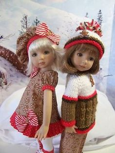 Gingerbread-Mix-Made-for-13-Effner-Little-Darling-by-TDDesigns. Ends 10/26/14. SOLD for $85.95.