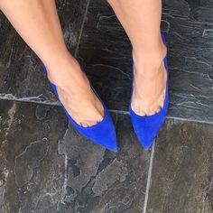 Boutique 9 blue suede pumps 4.5 inch heel Boutique 9 Shoes Heels
