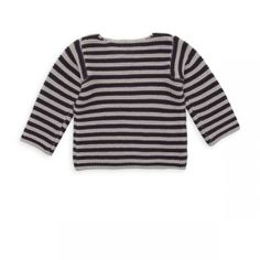 Pull point mousse bleu noir - Pullover Girls Boys - BONTON