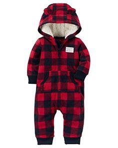 Carter's Baby Boys Fleece Hooded Romper Jumpsuit, Red/Bla... https://www.amazon.com/dp/B0763RFPDQ/ref=cm_sw_r_pi_dp_U_x_L3tyAbPFQGJSA
