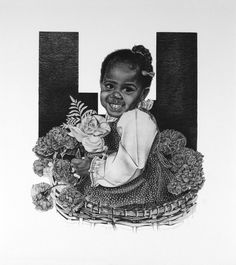 """""""The Floral Arrangement"""" pencil drawing by Master pencil artist John Nelson"""