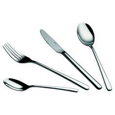 Nerez příbor Lexington, 24 ks | Bonami Tableware, Dinnerware, Tablewares, Dishes, Place Settings