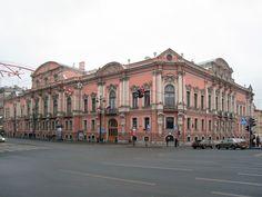 HOME OF SERGEI AND ELLA Beloselsky-Belozersky Palace   .... St. Petersburg