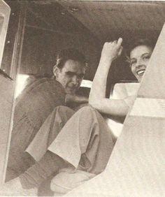 Howards Huges and Katherine Hepburn