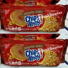 Chips Ahoy Cinnamon Donut Cookies release date Chips Ahoy Cookies, Cotton Candy Party, Cinnamon Donuts, Snack Recipes, Snacks, Pop Tarts, Crackers, Nike Air, Room Ideas
