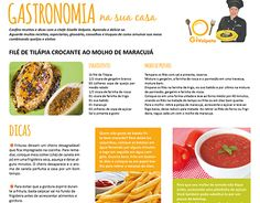 "Check out new work on my @Behance portfolio: ""Diagramação coluna de gastronomia""…"