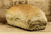 Simple Milk Kefir Yeast Bread-  Kefir can be used make bread with no additional yeast or sourdough starter!