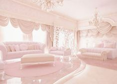 Instead of a coffin.just put me in a glass casket and sit me in this room forever. It& perfect.Instead of a coffin.just put me in a glass casket and sit me in this room forever. Its perfect. Dream Rooms, Dream Bedroom, Rich Girl Bedroom, Girl Rooms, Girls Bedroom, My New Room, My Room, Pink Bedrooms, Pink Houses