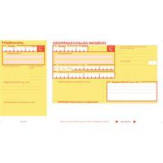 Készpénzátutalási megbízás (csekk, sárga csekk) VÁGOTT /10001/ - KÉSZPÉNZÁTUTALÁSI MEGBÍZÁS (CSEKK)