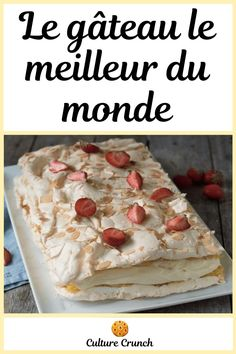 Pie Recipes, Cooking Recipes, Jacque Pepin, Meringue Pie, Yummy Cakes, Biscuits, Oatmeal, Pavlova, Food And Drink