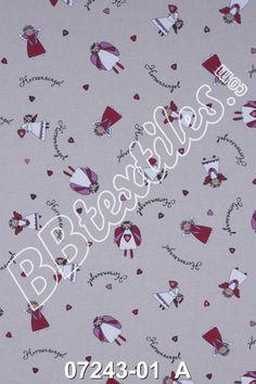 Weiteres - Dekostoff-Weihnachten-Herzensengel rot-weiß-beige - ein Designerstück von Der-Stoffstand bei DaWanda