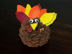 1000 images about pinecone turkey for art class on for Pipe cleaner turkey craft