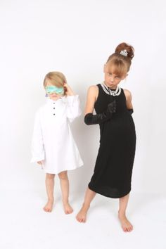 Breakfast At Tiffany's Costume, Audrey Hepburn Outfit, Toddler Sleep, Breakfast At Tiffanys, Sleep Set, Toddler Outfits, Flower Girl Dresses, Photoshoot, Costumes