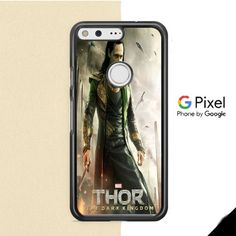 Loki Tom Hiddleston Collage Google Pixel Case