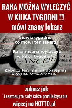 Jak wyleczyć raka w kilka tygodni – wywiad z amerykańskim lekarzem od raka – Cancer Cure, The Cure, Teak, Health, Food, Diy, Health Care, Bricolage, Essen