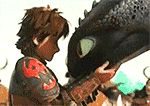 How to train your dragon Animated Gifs #gif #howtotrainyorudragon #toothless