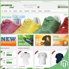 Magento SportsLand Premium Theme For Magento