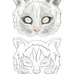 Printable Cat Mask