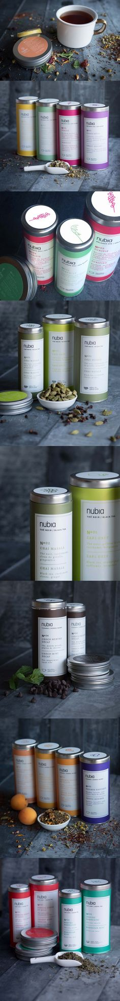 Nubi Spa Tea #Packaging                                                                                                                                                      Más