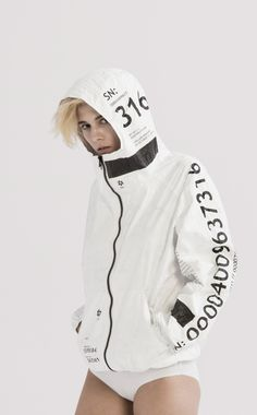 TYVEK SERIAL NUMBER ZIP-UP | UEG STORE