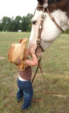 "little girls and horses... some friendships are meant to be! RePinner: ""I want one!"""