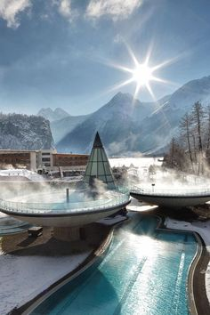 Aqua Dome Hotel, Längenfeld, Austria