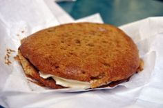 carrot cake cookie at Writer's Stop. Hollywood Studios. #Disney.   at sweet spells too.  BEST cookie i ever had