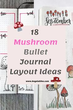 Mushrooms are fun bullet journal themes for the bujo addict who wants inspiration. We share bullet journal ideas, mushroom bullet journal layouts, mushroom bullet journal spreads, mushroom bullet journal page ideas and even fun facts about mushrooms. Bullet Journal Monthly Spread, Bullet Journal How To Start A, Bullet Journal Notebook, Bullet Journal Themes, Bullet Journal Layout, Bullet Journal Inspiration, Bullet Journals, Journal Pages, Journal Ideas