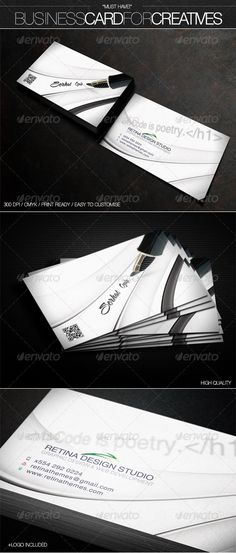 """Business Card for """"Creatives"""""""