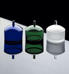 Expressive and Practical – Objects by Finnish Glass Artist Markku Salo Kitchenware, Tableware, Pots, Art Of Glass, Glass Ceramic, Shape Design, Glass Design, Kitchen Utensils, Tea Set