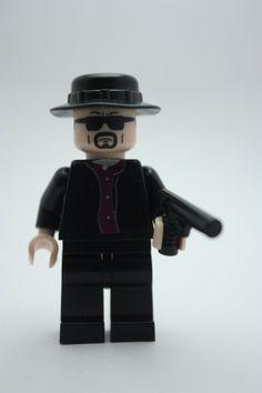 Breaking Bad's Heisenberg Custom Minifigure by Tinkerbrick on Etsy, £24.99
