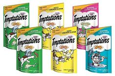 TEMPTATIONS Classic Treats for Cats Feline Favorites 3 Ounces 6Pouch Variety Pack >>> You can get more details by clicking on the image.