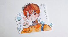 Cute Little Drawings, Cute Drawings, Marker Art, Copic Marker Drawings, Pretty Art, Cute Art, Manga Watercolor, Character Art, Character Design