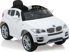 ΟΧΗΜΑΤΑ 12 VOLTS : Ηλεκτροκίνητο Αυτοκίνητο BMW X6 12V R/C JJ258 White Cangaroo Bmw X6, Electric Cars, Vehicles, Everything, Car, Vehicle, Tools