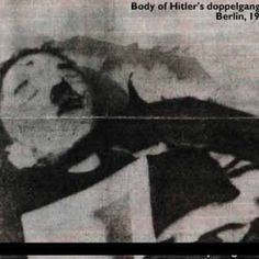 Hitler dead after his suicide.