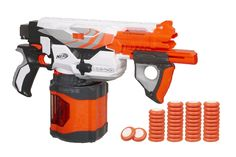 Nerf Vortex Pyragon Blaster, I have got to get me one of these.